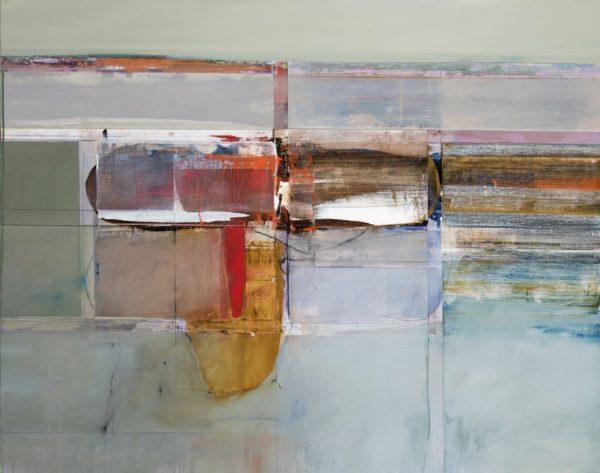 John Waller Memory and space Oil on linen 129 x 167cm